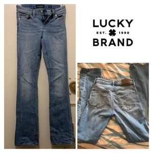 Lucky Brand Stonewashed Boot Cut Jeans
